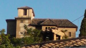 Vista frontal del palacio de Dalahorra