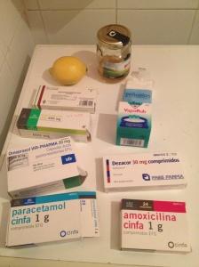 Arsenal de medicinas para pasar el invierno